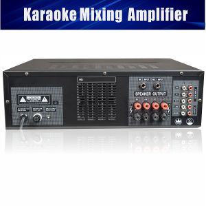 Karaoke Mixing Amplifier 350W with Bluetooth SD Card USB Slot pictures & photos