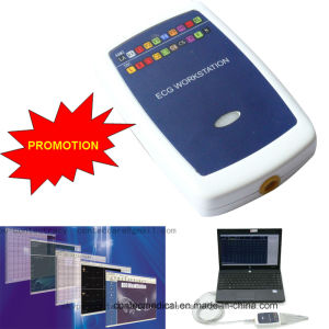 Medical Equipment Ce Approved 12-Lead PC-Based ECG Workstation pictures & photos