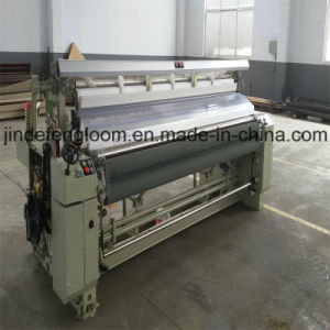 190cm Electronic Double Feeder Water Jet Loom with Cam Shedding pictures & photos