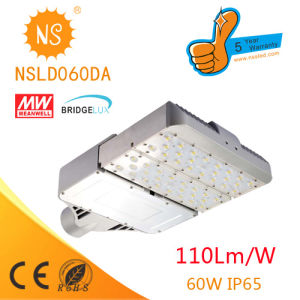 Bridgelux Chips High Power 60W Solar LED Street Light