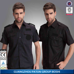 Security Uniform of Cotton Fabric pictures & photos