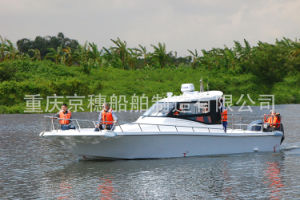 31FT High Speed Patrol Boat FRP Boat for Patrol and Fishing Passenger Boat pictures & photos