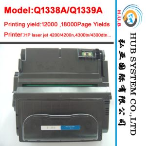 Wholesale Black Laser Cartridge for HP Toner Q1338A/Q1339A (Compatible&New) pictures & photos