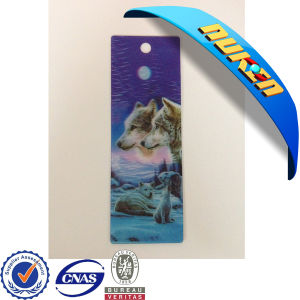 Sale High Quality Plastic 3D Bookmark pictures & photos