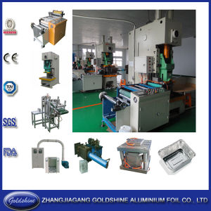 Aluminum Foil Container Making Machine (GS-AC-JF21-63T) pictures & photos