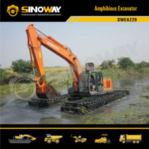 Hitachi Marsh Buggy Excavator with 0.9 M3 Bucket pictures & photos