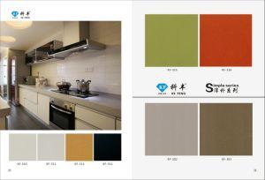 Pure Color Solid Surface of Artificial Quartz Stone pictures & photos
