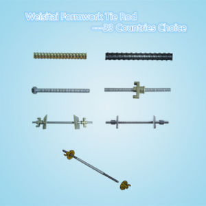 Galvanized Steel Formwork Tie Rod