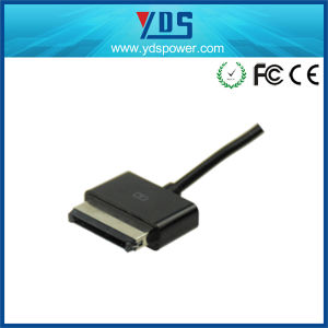 15V 1.2A Tablet Charger for Asus with Microusb 40pin Connector pictures & photos