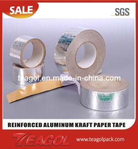 Reinforced Alum Foil Kraft Paper Tape pictures & photos