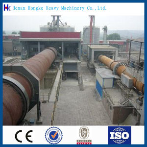 First-Rate Kaolin Rotary Kiln for Cement Production Line pictures & photos