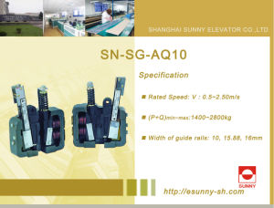 Elevator Safety Gear (SN-SG-AQ10) pictures & photos