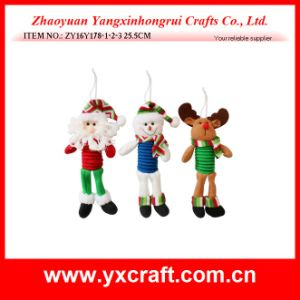Christmas Decoration (ZY16Y178-1-2-3 25.5CM) Christmas Gift, Christmas Picks pictures & photos