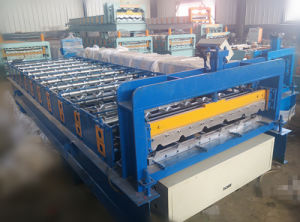Ghana Popular Type Steel Sheet Tile Roll Forming Machine pictures & photos