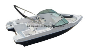 Aqualand 20.5feet 6.25m Fiberglass Fishing Boat /Speed Motor Boat/Bowrider (205br) pictures & photos