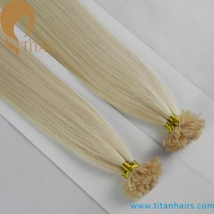 Brazilian Virgin Hair Pre Bonded U Tip Hair Extension pictures & photos