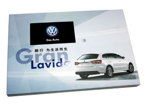 7 Inch LCD Vide Brochure Card with Button pictures & photos