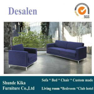 Blue Color Leather Sofa, Office Sofa, Office Furniture (8512) pictures & photos