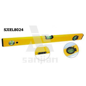 Sjie8024 Aluminium Frame Bubble Spirit Level pictures & photos