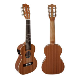 Aiersi High Quality Mahogany Body Electrical 6-String Guitarlele 28 Inch pictures & photos