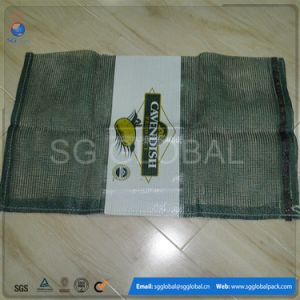 Packaging Vegetable PP L-Sewing Leno Mesh Bag pictures & photos