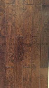 Indoor Usage Teak Finger Joint (UNI) Natural Hardwood Flooring pictures & photos