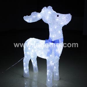 LED Decorative Christmas Motif Deer Light (LDM-DEER-75CM) pictures & photos