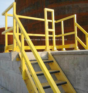 High Strength FRP Pultruded Handrail, FRP Fence, Safety Barrier Fence pictures & photos