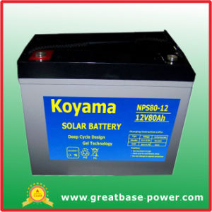 80ah 12V Solar Battery pictures & photos