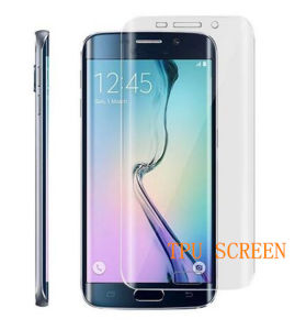 Screen Protector TPU for S6 Edge Plus Explosion-Proof Membrane pictures & photos