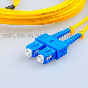 Fiber Optic Sc/Upc-Sc/Upc Sm Sx Patch Cord pictures & photos