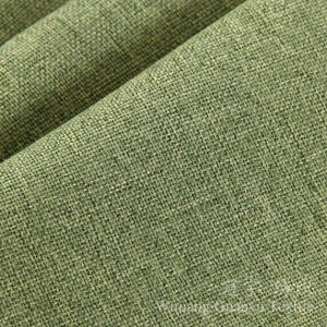 Plain Dyed Polyester Linen Synthetic Sofa Furniture Cloth pictures & photos