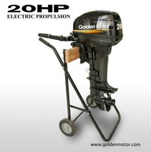 Electric Outboard Engine 20HP, pictures & photos