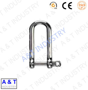 Drop Forged Steel D Type Anchor Shackle for Overhead Steel Hardware pictures & photos