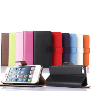 Cell Phone Foldable Wallet Leather Case for iPhone 6 pictures & photos