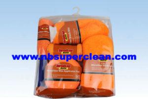 Car Wash Pad, Car Wash Mitt, Microfiber Cloth Car Wash Kit (CN1566) pictures & photos