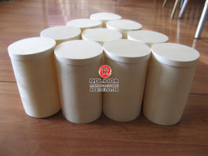 Cylinder Shape Wooden Box with Logo pictures & photos