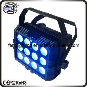 12PCS 6in1 RGBWA UV Light PAR for Outdoor Garden Decorate