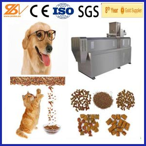 140-600kg/H Large Capacity Dog Cat Pet Food Pellet Machinery pictures & photos