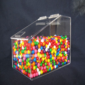 Custom Acrylic Supermarket Single Food Dispenser Box (BTR-K4023) pictures & photos