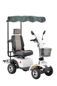 Four Wheels off Road Mobility Scooter with Golf Bag (EMl48A) pictures & photos