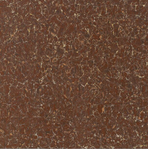 Red Color Pilatie Polished Porcelain Tile pictures & photos