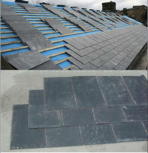 China Grey Roofing Slate for Roof Decoration pictures & photos