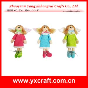 Christmas Decoration (ZY11S248-1-2-3) Christmas Market Santa Angel Ornaments pictures & photos