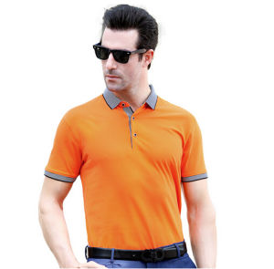 Fashion Custom Cotton/Polyester Polo Shirt (P059) pictures & photos