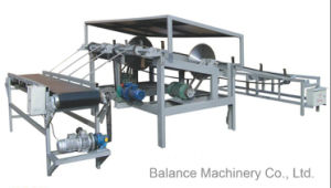 Auto Log Cutting Saw and Feeding Conveyor pictures & photos