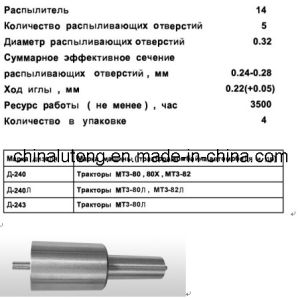 Diesel Fuel Injection - Diesel Nozzle M001 Stamping 50 pictures & photos