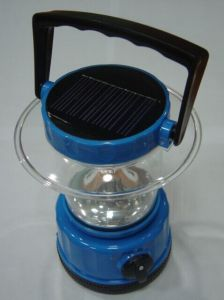 Solar Portable LED Lantern Lamp Light with High Quality Class pictures & photos