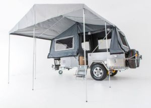 Front Folded Open off Road Camper Trailer pictures & photos