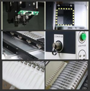 SMT Pick and Placer with Vision Camera for BGA, 0201 pictures & photos